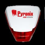 Pyronix välisireen vilkuriga Deltabell E punane