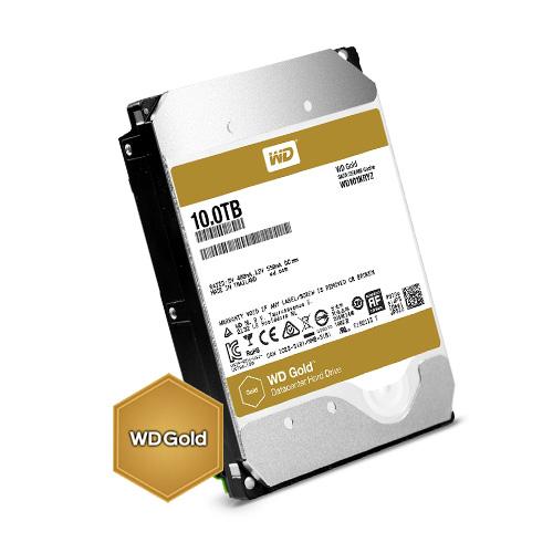 Kõvaketas 10TB (HDD), Western Digital Gold