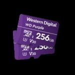 Mälukaart Micro SD 32/64/128GB Western Digital Purple