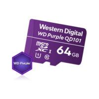 Mälukaart 64GB (MicroSD) Western Digital Purple