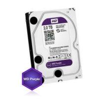 Kõvaketas 2TB (HDD), 24/7 salvestamiseks, Western Digital Purple