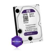 Kõvaketas 6TB (HDD), 24/7 salvestamiseks, Western Digital Purple