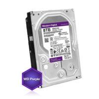 Kõvaketas 8TB (HDD), 24/7 salvestamiseks, Western Digital Purple